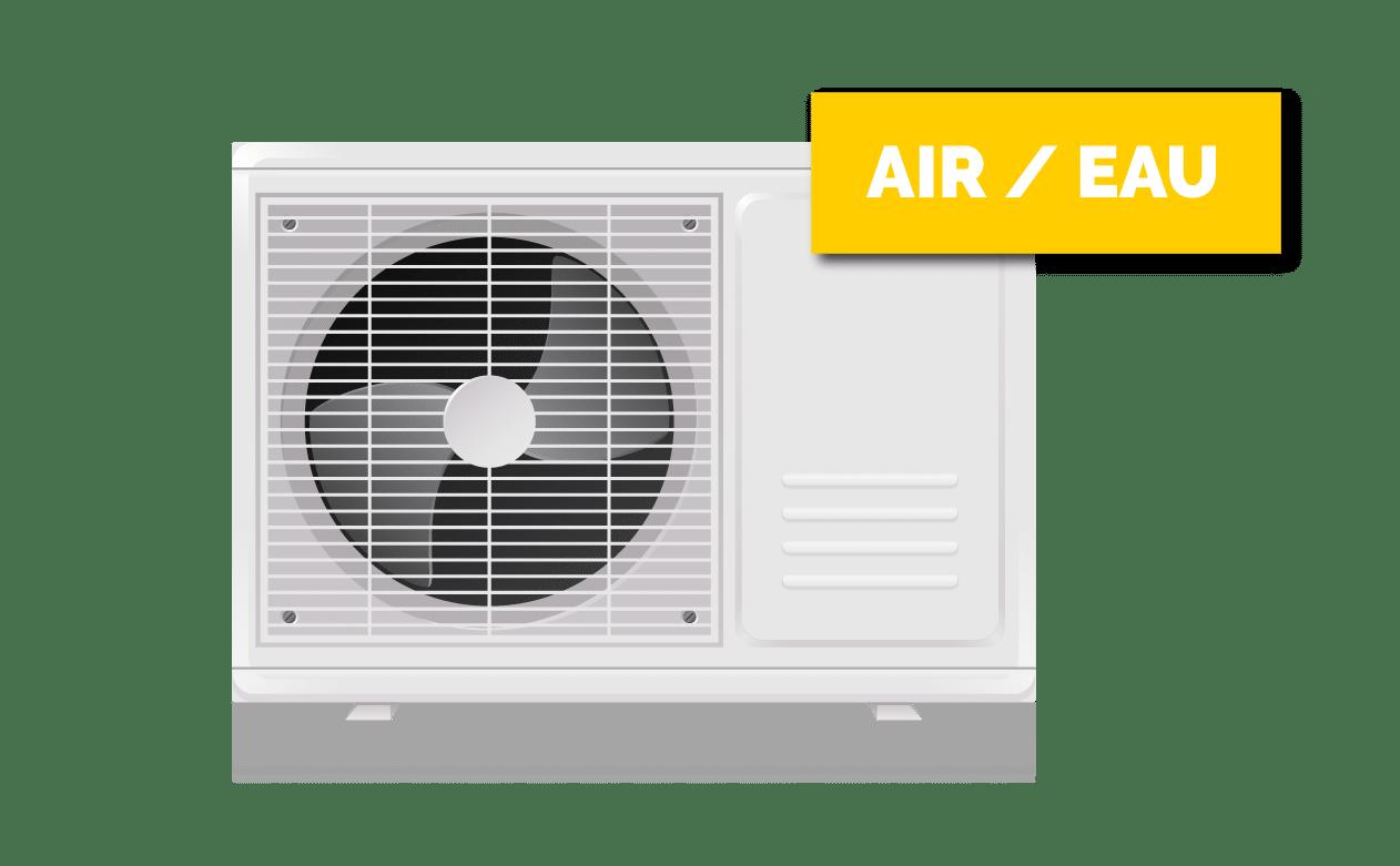 Unité extérieure chauffage réversible
